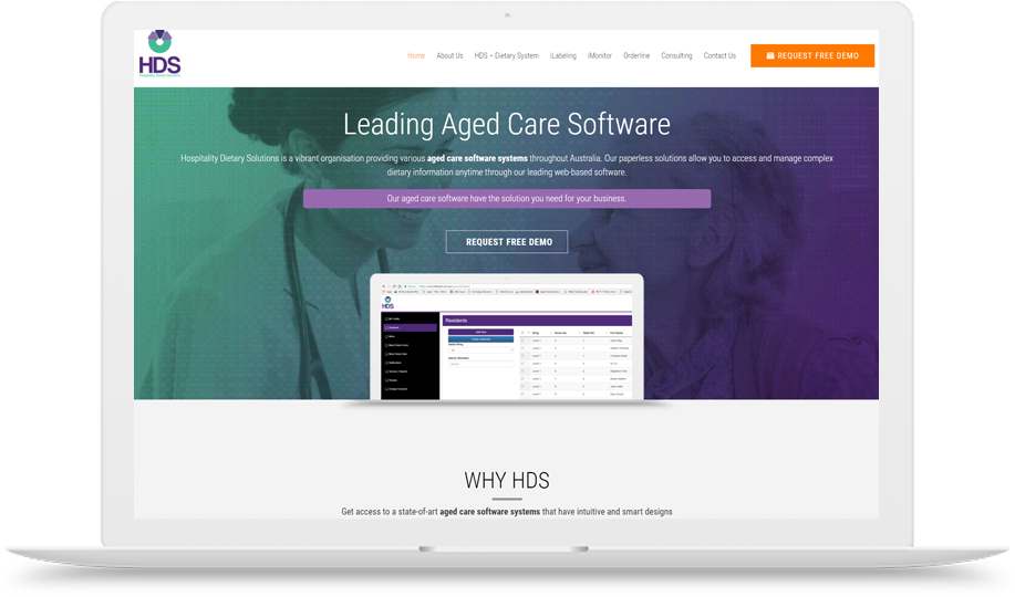 HDS Aged Care software in Australia